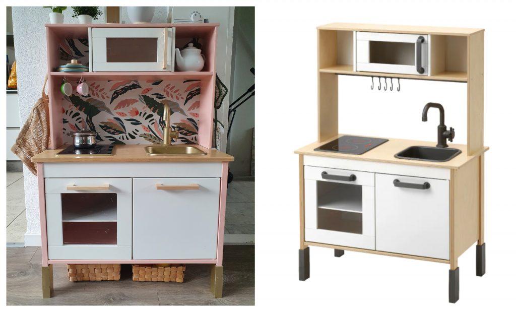 Ikea hack, Ikea DIY, ikea keukentje,ikea speelgoed keukentje,